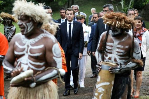 Macron appelle les Calédoniens à