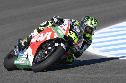 MotoGP: Crutchlow s'invite en pole du GP d'Espagne devant Zarco