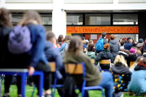 Blocage de la fac de lettres de Nancy: six étudiants poursuivis en correctionnelle