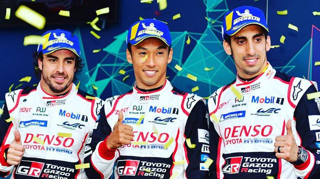 Fernando Alonso retrouve le goût de la victoire en remportant les Six Heures de Spa-Francorchamps (vidéo)