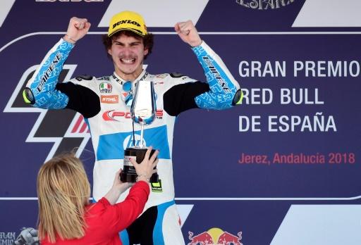 Moto2: victoire de l'Italien Lorenzo Baldassarri au GP d'Espagne