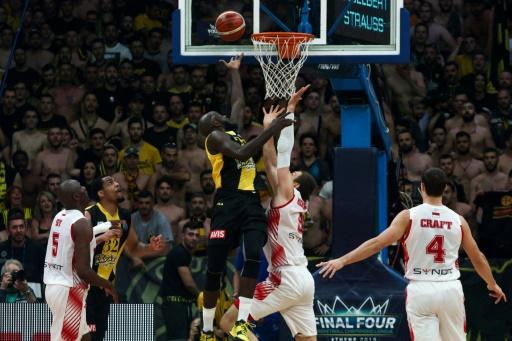 Basket: Monaco échoue en finale de la Ligue des champions dans la salle de l'AEK Athènes