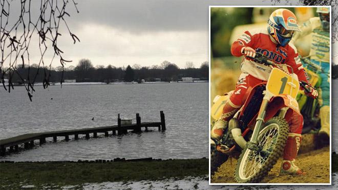 L'ancien champion du monde belge de moto-cross Eric Geboers meurt après avoir plongé pour sauver son chien