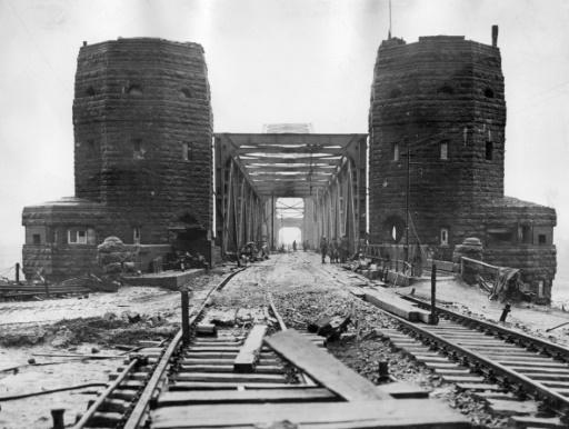 Allemagne: mise en vente des tours du Pont de Remagen