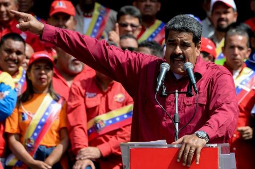 Maduro rejette l'appel de Washington à reporter la présidentielle