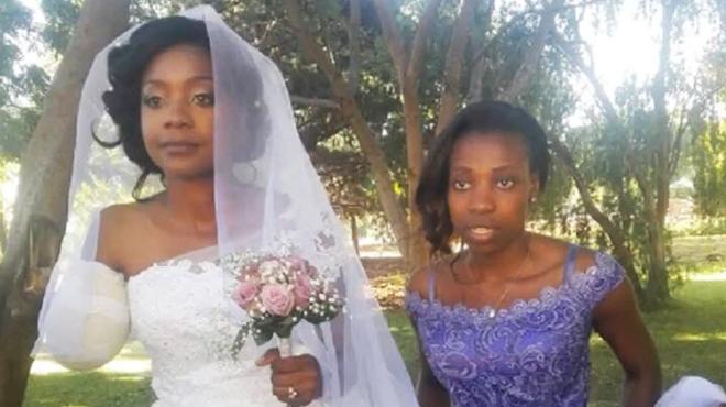 Un crocodile lui dévore le bras, elle se marie quelques jours plus tard à l'hôpital (vidéo)