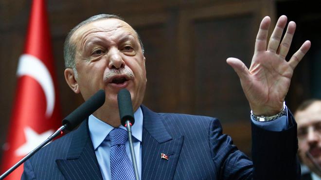 Erdogan s'emporte contre le