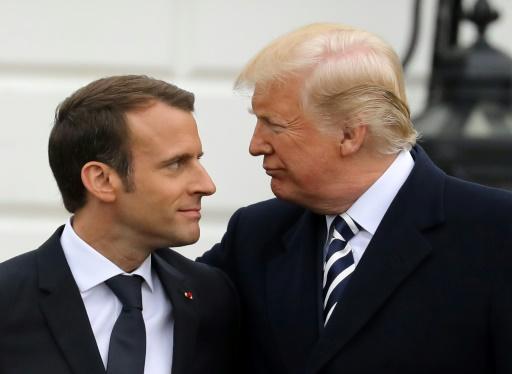 Macron et Trump se sont entretenus de