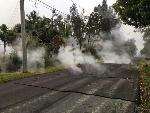 Hawaï: deux nouvelles fissures après l'éruption du volcan Kilauea