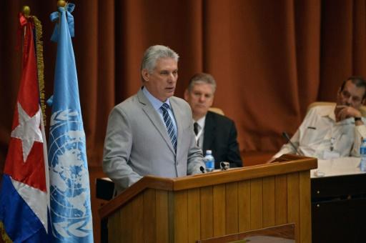 Cuba : le nouveau président écarte toute