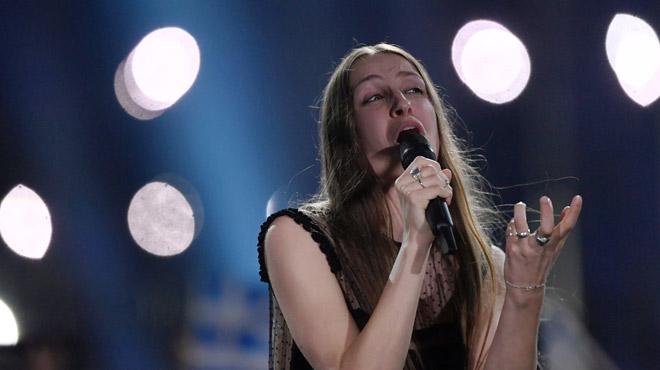 La Belge Sennek passe à côté de la finale de l'Eurovision