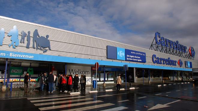 Négociations difficiles sur la restructuration chez Carrefour: le personnel part en grève, plusieurs supermarchés restent fermés