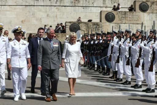 Le prince Charles et Camilla en Grèce pour trois jours de visite officielle