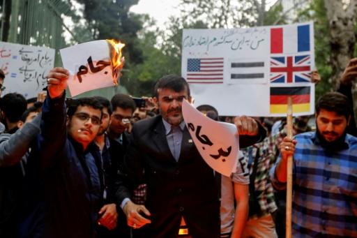 Les intérêts économiques des Européens en Iran, pays par pays