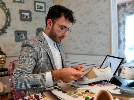 Daniel Essa, réfugié syrien et ambitieux styliste de luxe