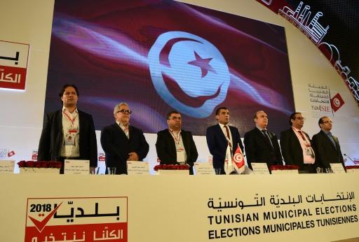 Municipales/Tunisie: Ennahdha en tête mais sans majorité à Tunis