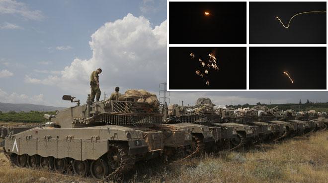 La tension monte d'un cran au Moyen-Orient: tirs de roquettes entre Israel et l'Iran