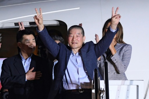 L'université de Pyongyang employeur des détenus américains salue leur libération