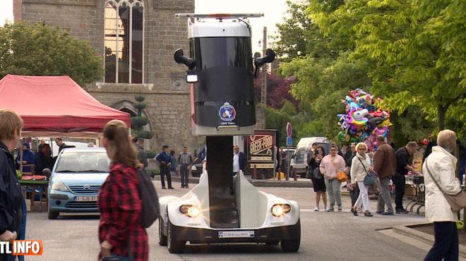 A quoi sert ce nouveau véhicule digne de Transformers que la police boraine teste pour l'instant?