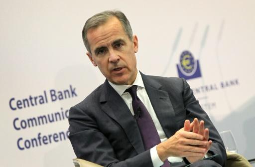 La BoE maintient son taux et abaisse sa prévision de croissance