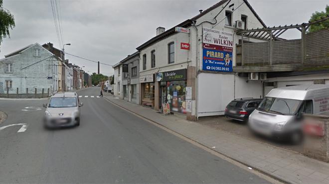 Vol à la voiture-bélier dans une librairie de Liège: l'auteur est en fuite