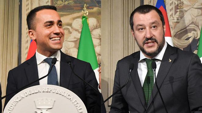 Ces deux partis tentent de former un gouvernement antisystème en Italie