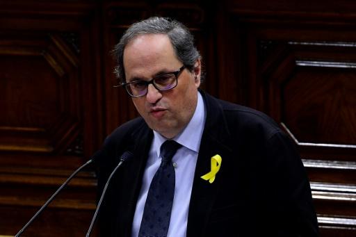 Quim Torra, un éditeur indépendantiste candidat à la présidence catalane