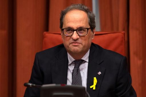 Le parlement catalan débattra samedi de l'investiture du successeur de Puigdemont