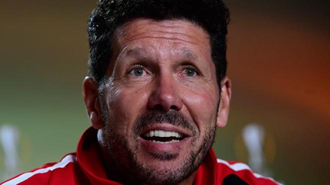 Non, l'Atlético ne pourra pas compter sur Simeone — Finale OM