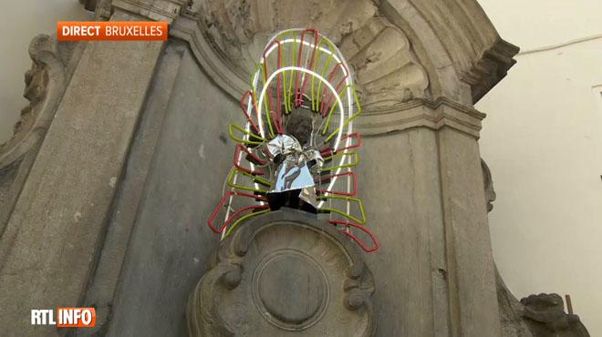 Le millième costume du Manneken Pis vient d'être présenté: