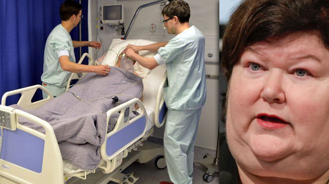 Pour tenir le coup, un tiers des travailleurs de la santé disent prendre des médicaments: la ministre renvoie la responsabilité sur les hôpitaux
