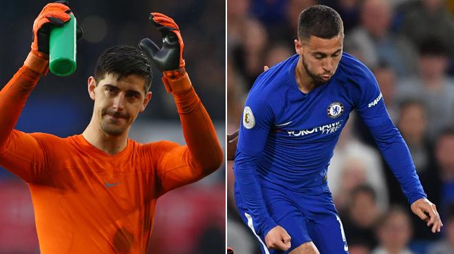 Match de la dernière chance ce dimanche pour Courtois et Hazard en vue d'une qualification pour la Ligue des champions