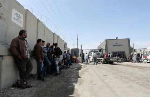 Gaza: le seul point de passage de marchandises fermé par Israël