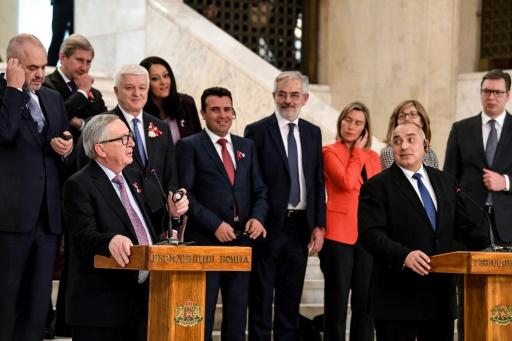Un sommet UE-Balkans sous l'ombre des défis de Trump à l'Europe