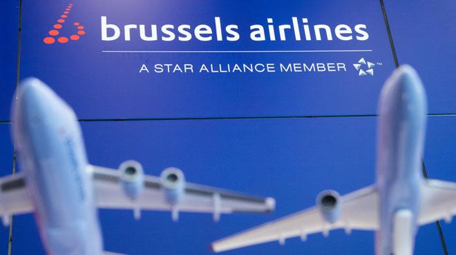 La plupart des avions de Brussels Airlines resteront cloués au sol lundi