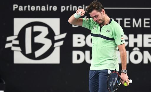 Tennis: Wawrinka battu à Rome pour son retour à la compétition