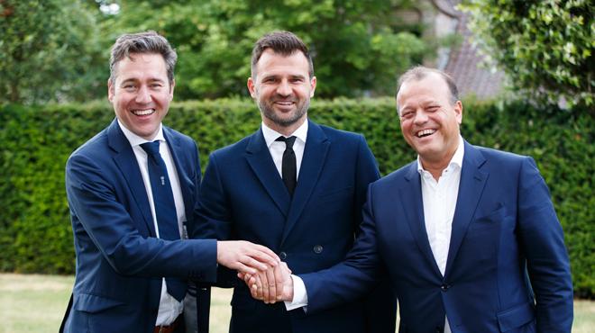 Les dirigeants de Bruges se félicitent: