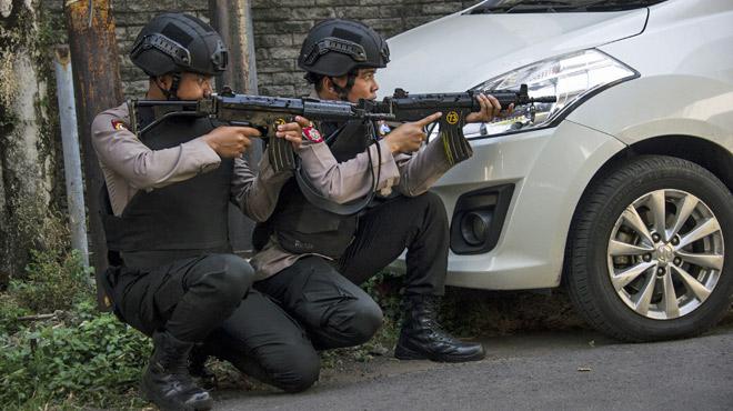 Vague d'attentats en Indonésie
