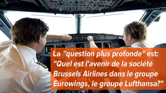 Un taux de grève de 75% chez Brussels Airlines ce mercredi