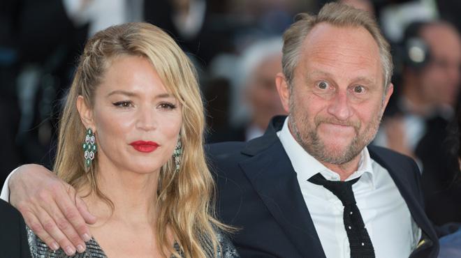 Insortable: quand Benoît Poelevoorde fait le pitre au Festival de Cannes, au bras de Virginie Efira (photos)