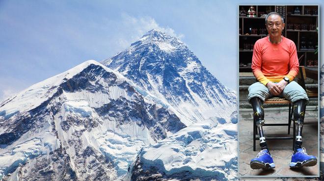 L'Everest lui a pris ses pieds en 1975: Xia est enfin parvenu à le vaincre en 2018