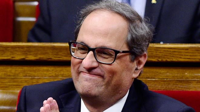 Voici le nouveau président de la Catalogne