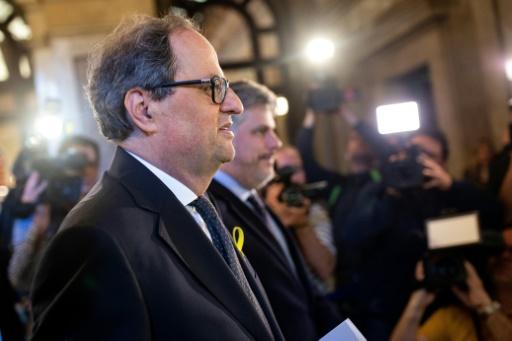 Espagne: Quim Torra, indépendantiste convaincu, élu président de Catalogne