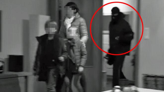 Cauchemar pour une mère et ses enfants à Herzele: un jeune voleur armé les force à monter dans leur voiture pour retirer de l'argent à la banque (vidéo)