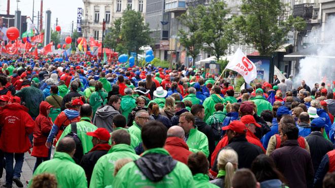 Manifestation contre la réforme des pensions: les syndicats espèrent entre 30.000 et 40.000 personnes