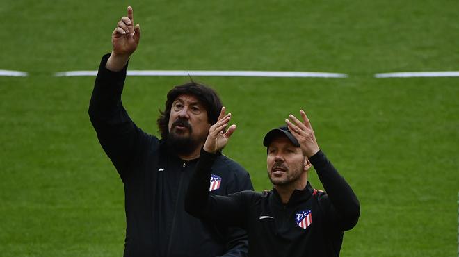 Europa League: qui est German Burgos, l'adjoint de Simeone qu'on surnomme