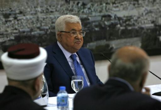 Ambassade américaine: l'Autorité palestinienne rappelle 4 ambassadeurs en Europe