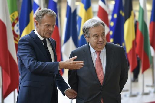 Sommet de l'UE : Donald Tusk dénonce