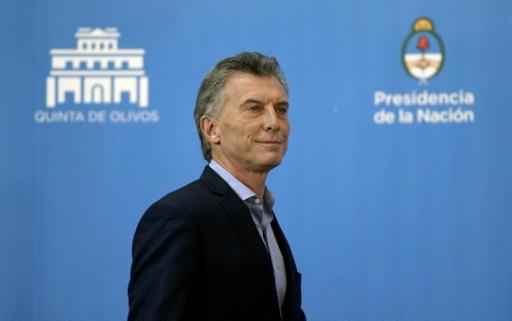 Le président argentin assure que la crise du peso est finie