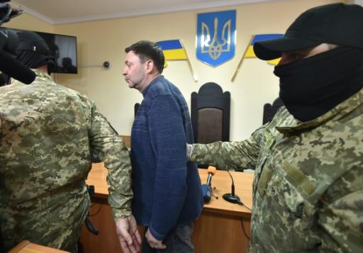 Ukraine : détention prolongée pour un journaliste accusé de
